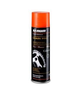 Xenum Chain Pro, aérosol de 500ml - lubrifiant synthétique de pointe pour chaîne au cerflon ®